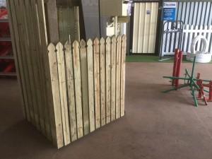 sample timber display