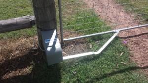 Farm gate automation